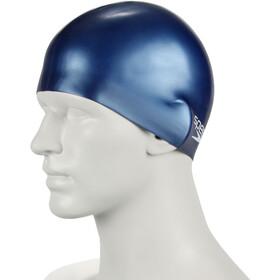 speedo Plain Moulded Gorro de silicona Niños, azul